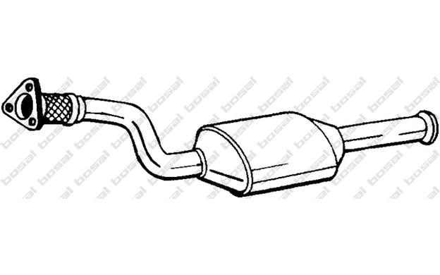BOSAL Katalysator für Renault Laguna 2.0 16V 1.8 16V 2.0