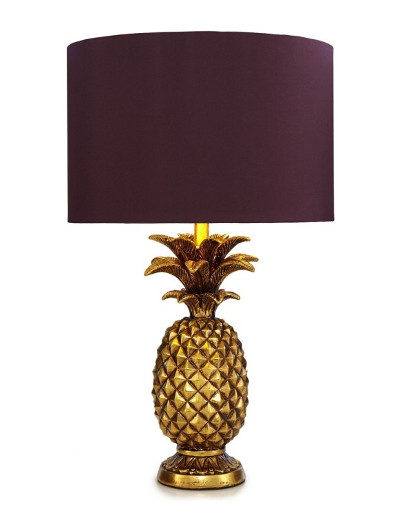 Butterfly Home Matthew Williamson Gold Pineapple Shaped