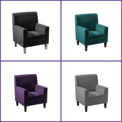 Reading Chairs Uk Hinkle Chair Company Stylish Medan Velvet Sitting Lounge Armchair