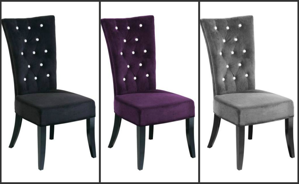 high back grey velvet dining chairs small club leather uk table chair sets mince his words