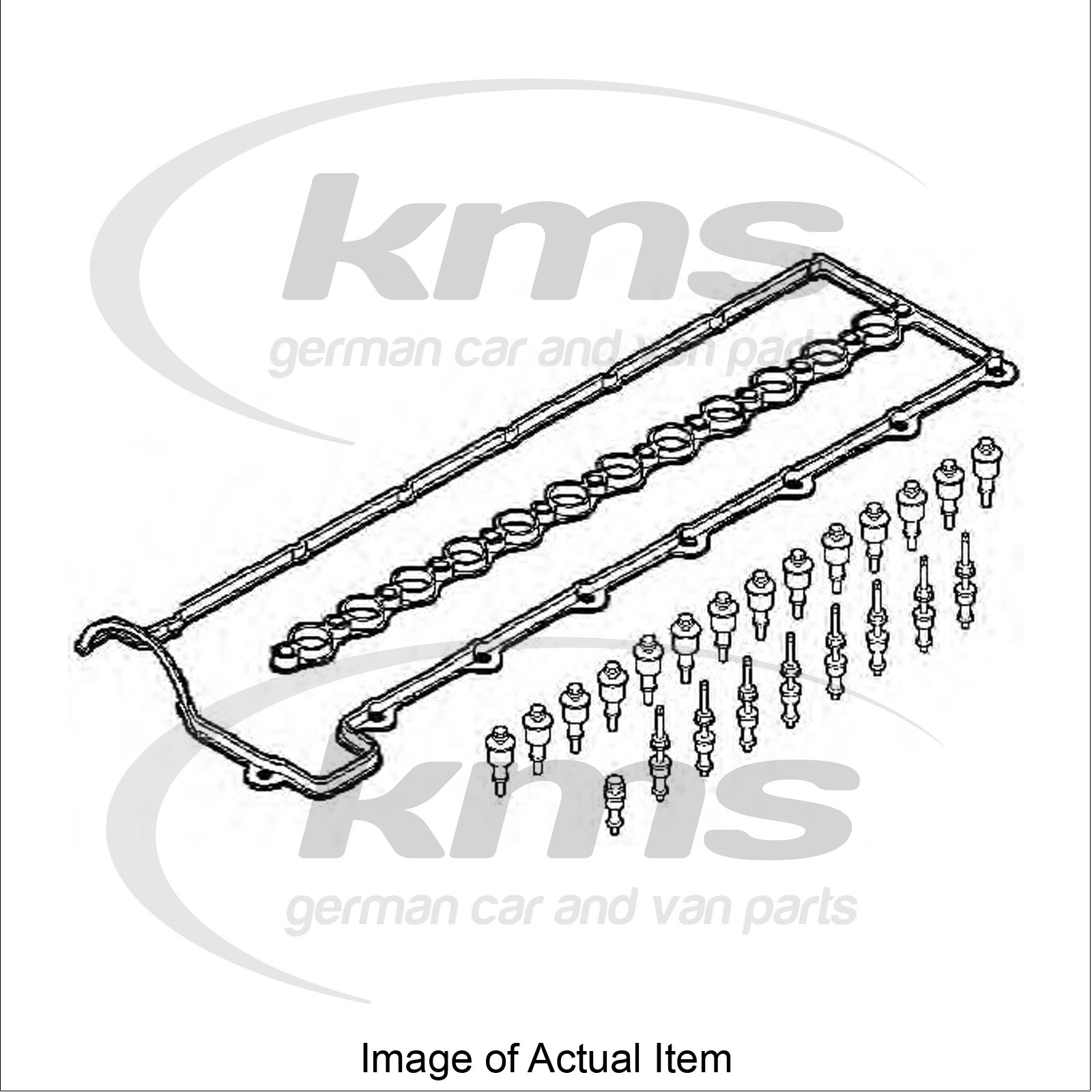 Valve Cover Gasket Set Bmw X5 E70 Xdrive 30 D Closed Off