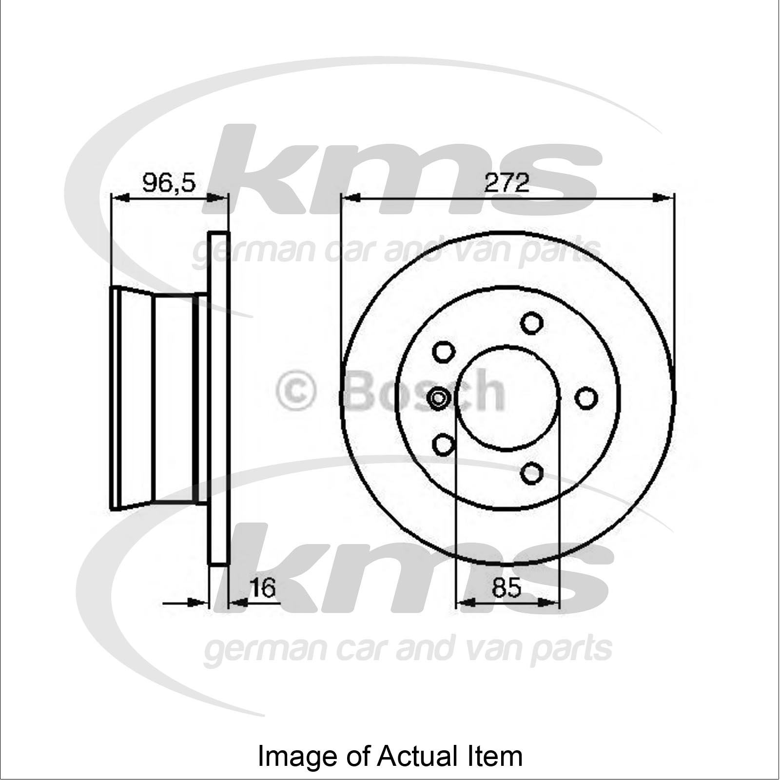 Brake Disc MERCEDES G-CLASS (W463) 230 GE (463.224, 463