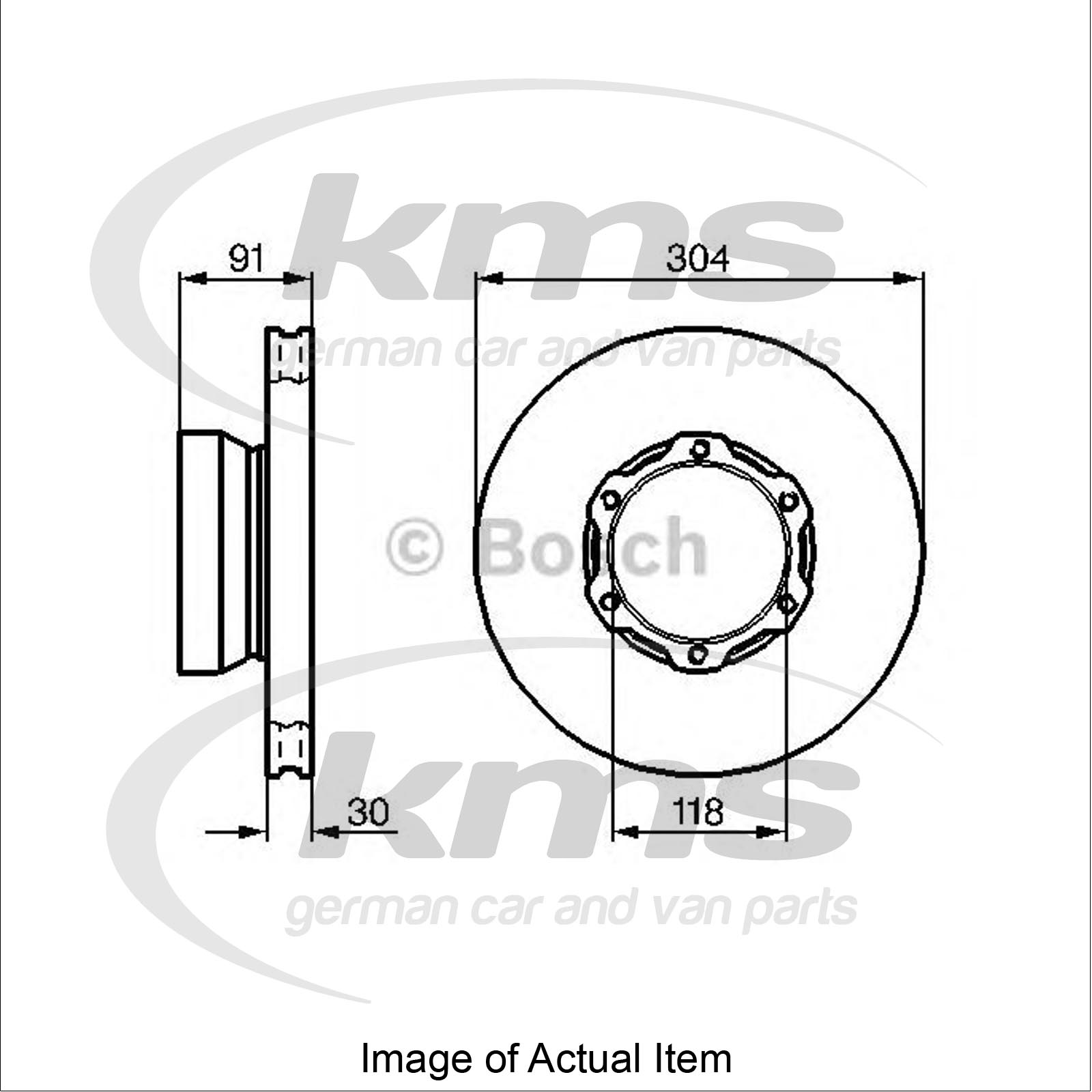 Brake Disc MERCEDES VARIO Platform/Chassis 815 D, 816 D