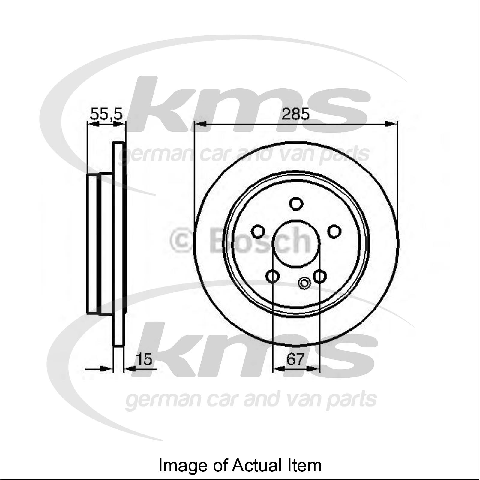 Brake Disc MERCEDES M-CLASS (W163) ML 270 CDI (163.113