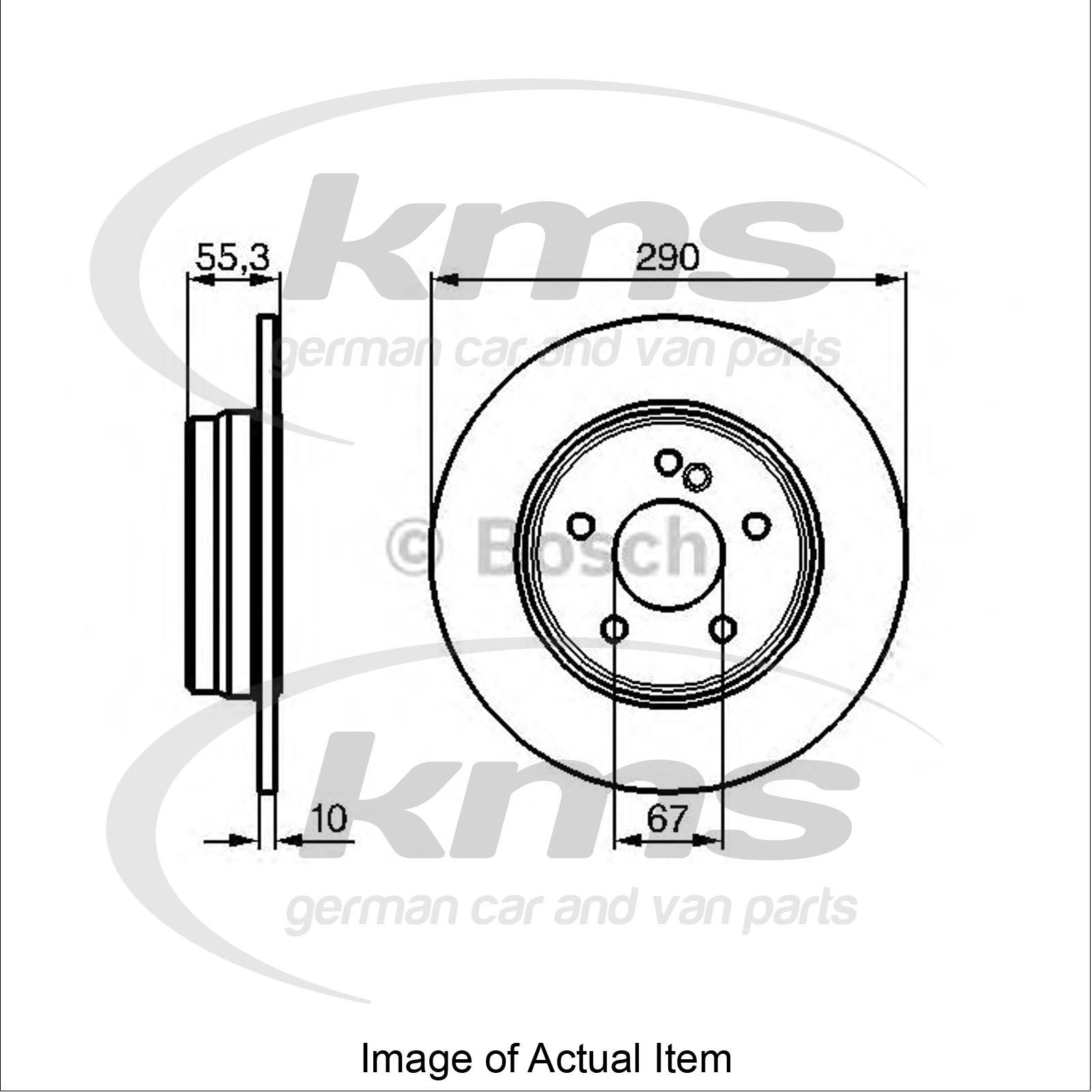 Brake Disc MERCEDES E-CLASS (W210) E 270 CDI (210.016
