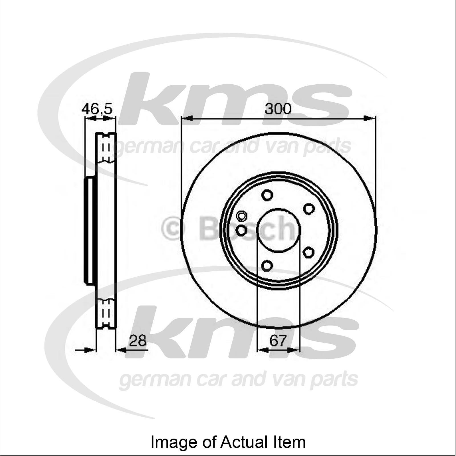 Brake Disc MERCEDES E-CLASS Estate (S210) E 270 T CDI (210