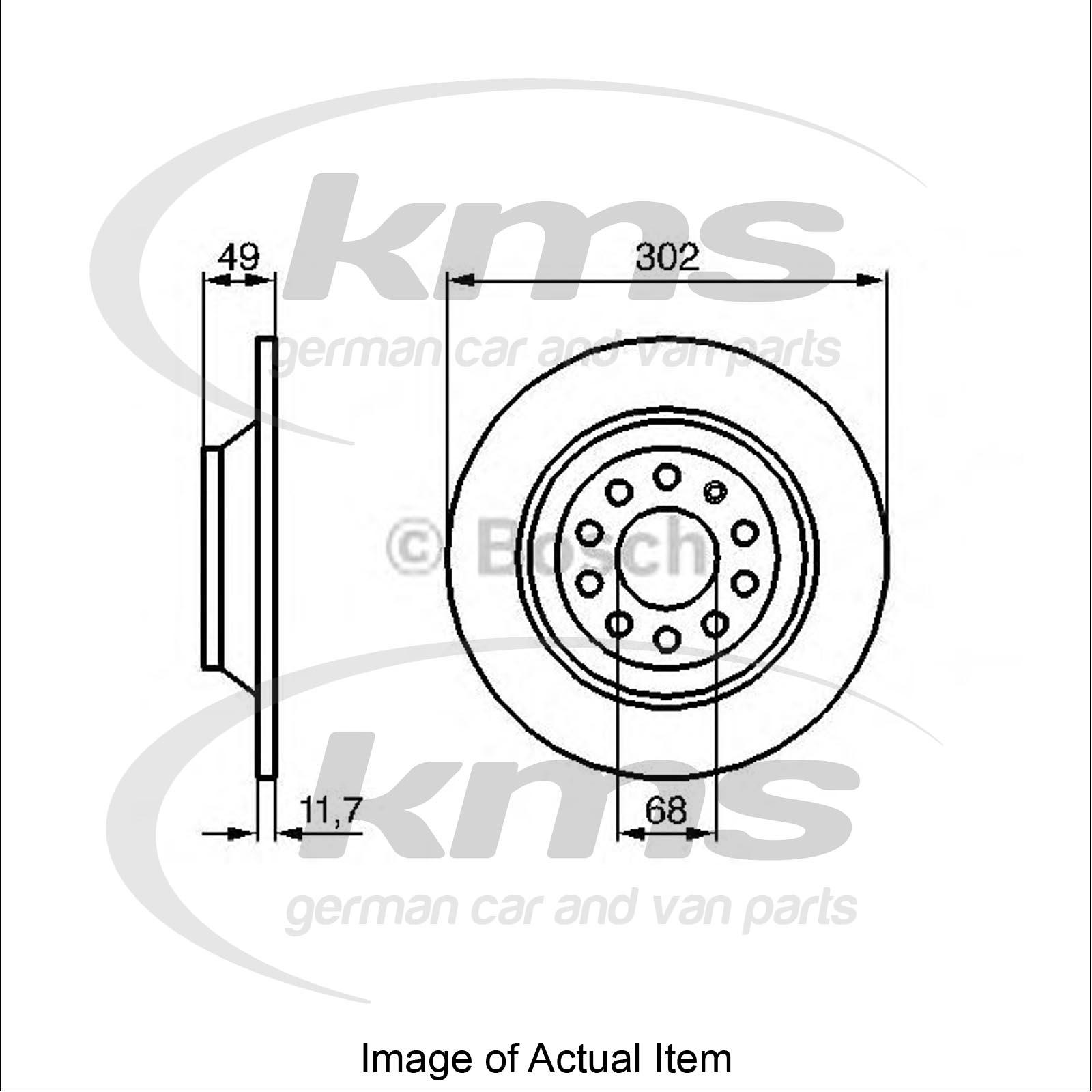 Brake Disc Audi A6 Avant 4f5 C6 3 0 Tfsi Quattro Estate