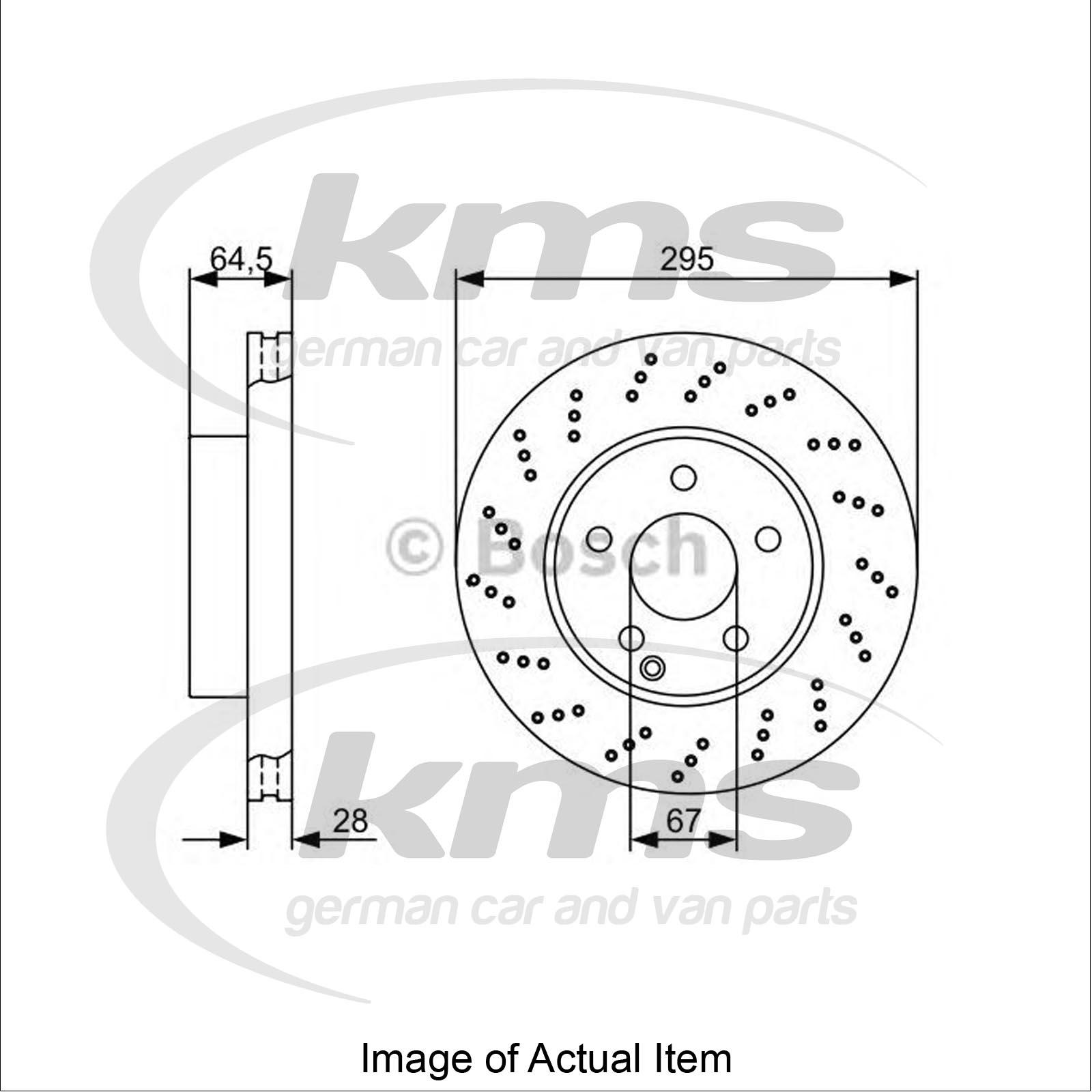 Brake Disc MERCEDES C-CLASS T-Model (S204) C 220 CDI 4
