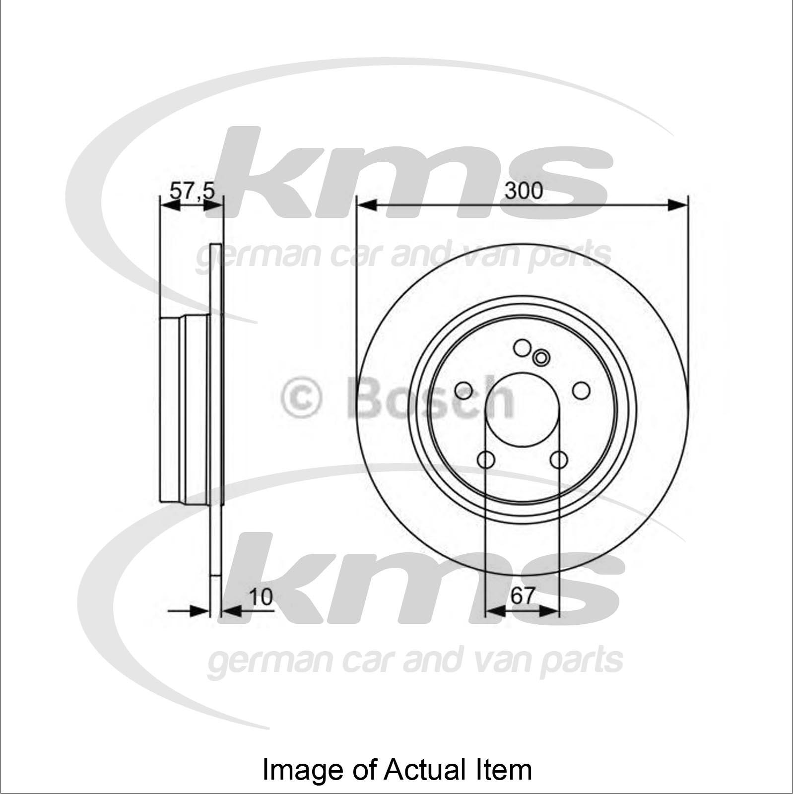 Brake Disc MERCEDES C-CLASS (W204) C 220 CDI (204.002