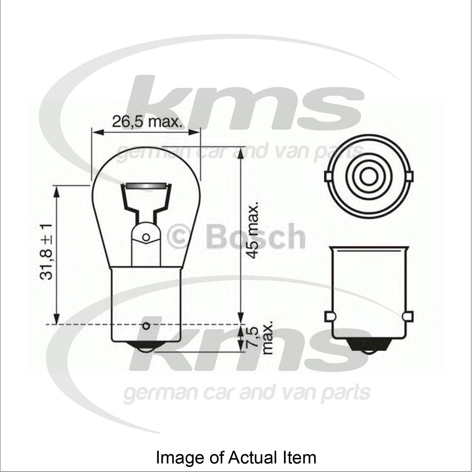 Bulb For rear fog light BMW 3 Touring (E30) 316 i Estate