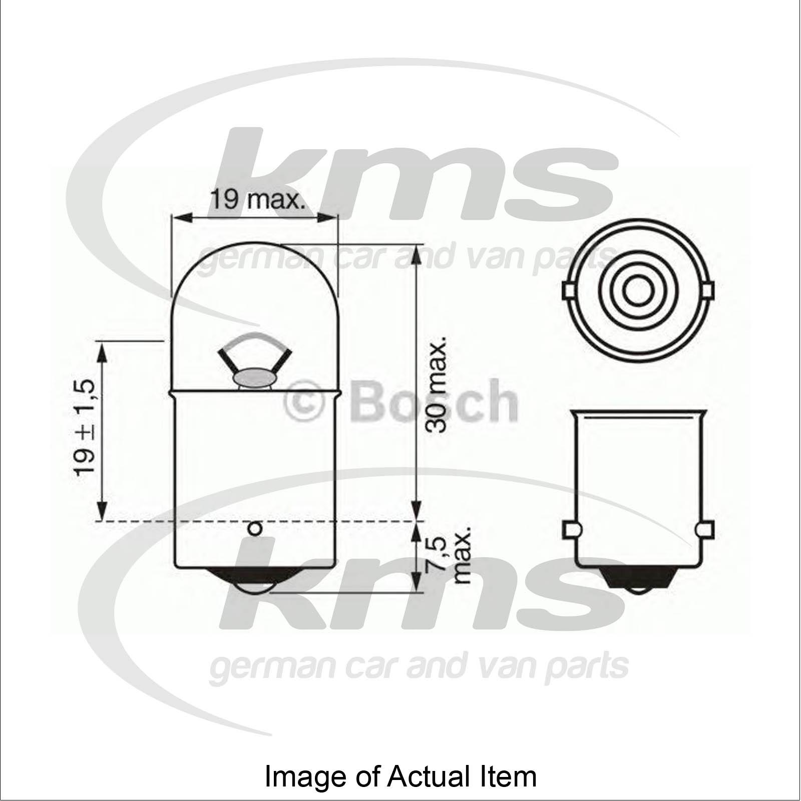 Bulb For Licence Plate Light Mercedes Sprinter 2 T Box 901 902 211 Cdi Box 10