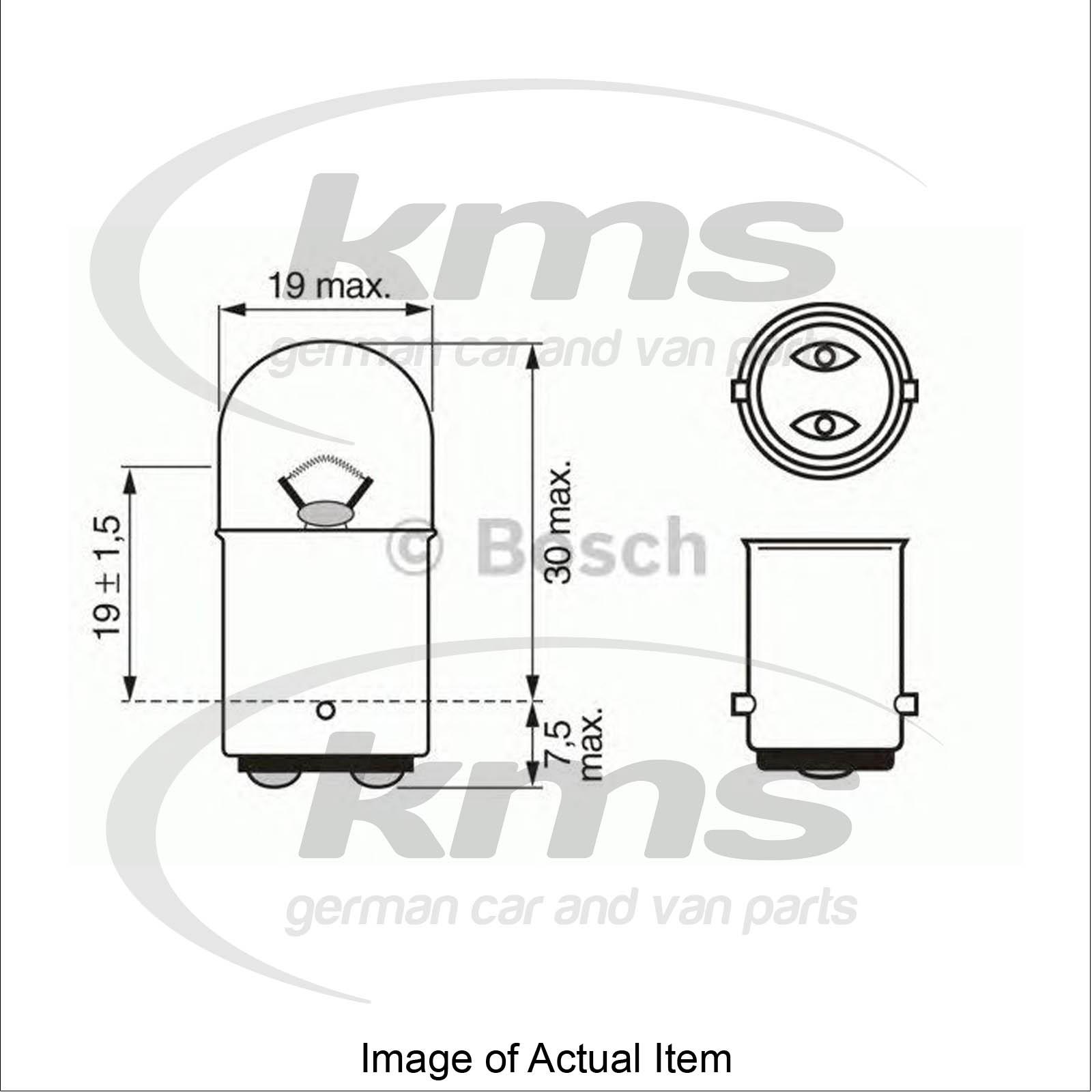 Bulb For Brake Taillight Mercedes Slk R170 230 Kompressor 170 447 Convert