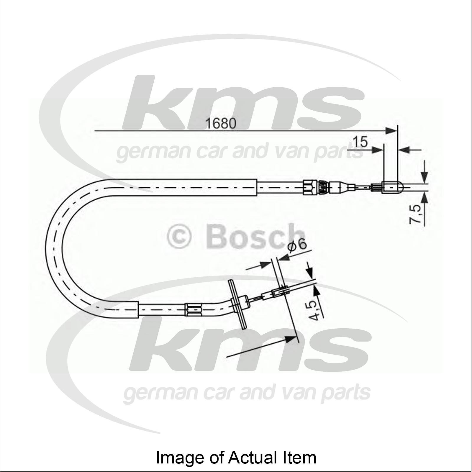 Handbrake Cable MERCEDES SPRINTER 4-t Platform/Chassis
