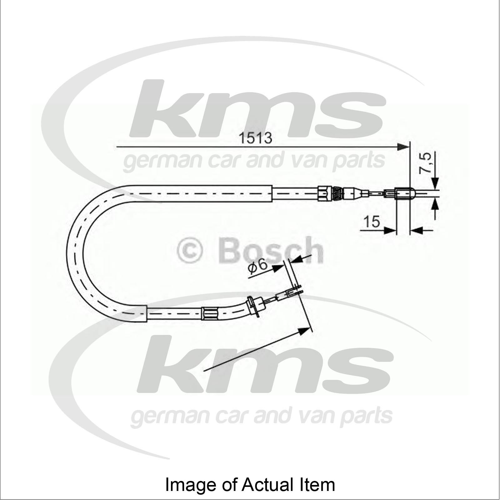 Handbrake Cable MERCEDES SPRINTER 2-t Platform/Chassis