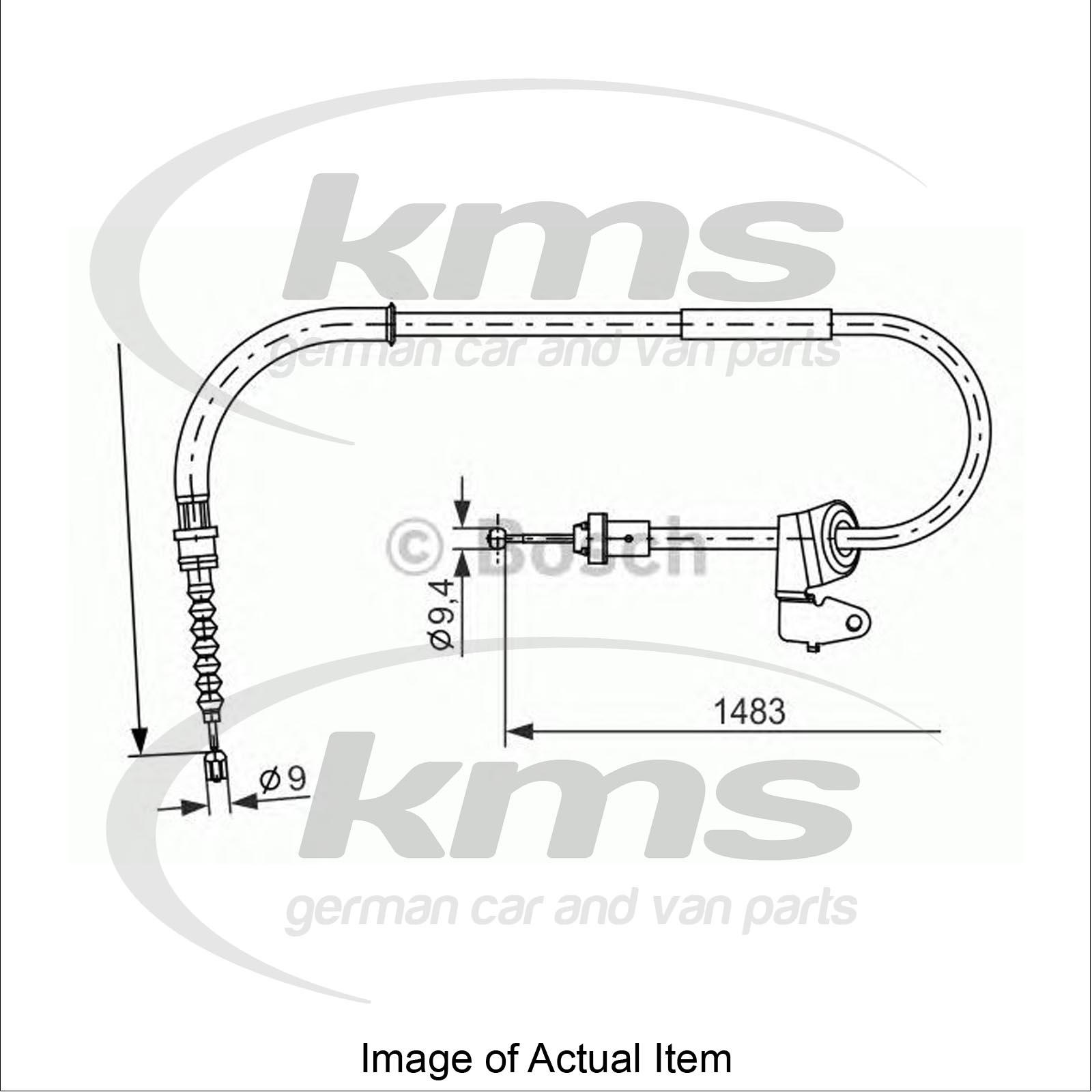 Handbrake Cable Mini Mini Clubman R55 Cooper S Estate