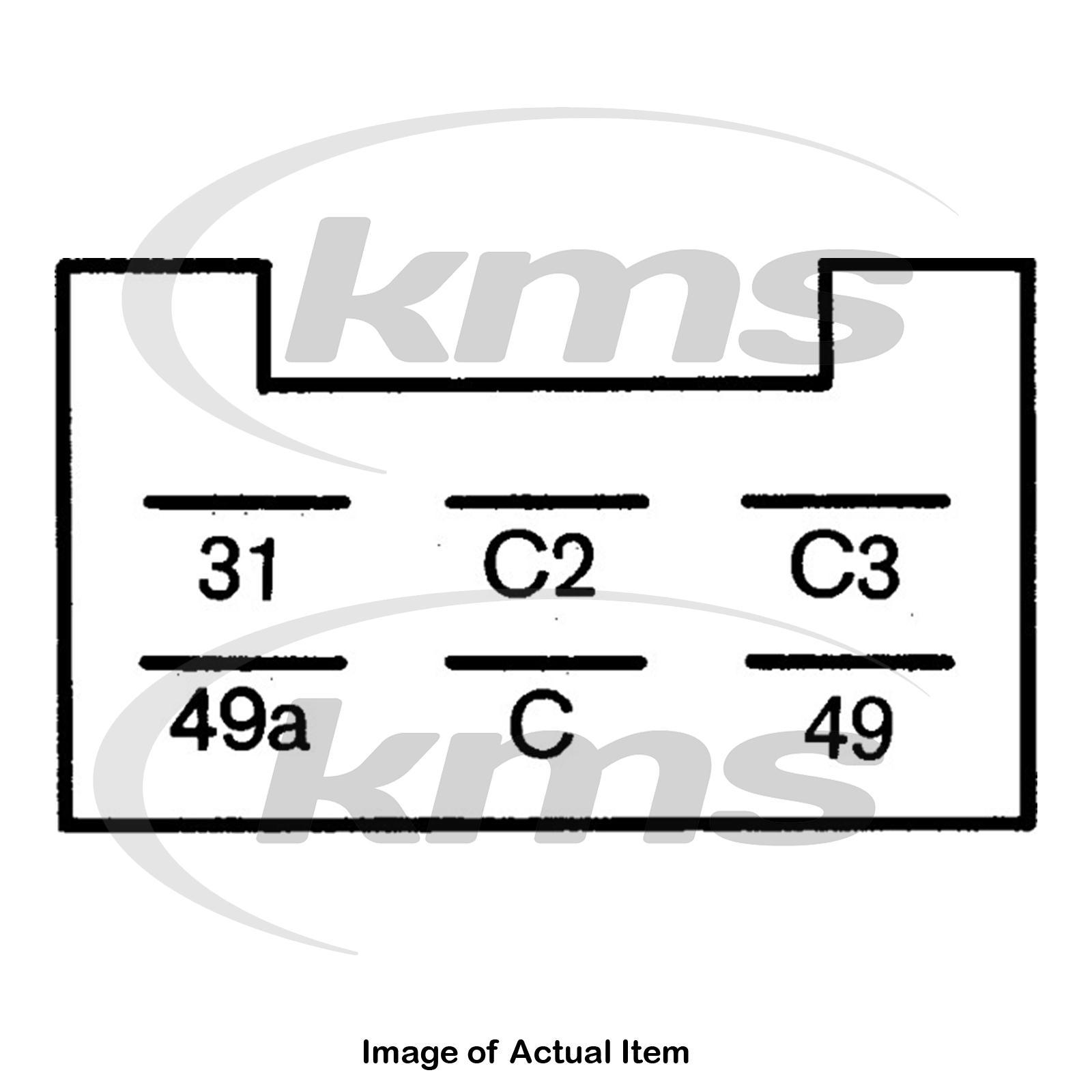 New Genuine HELLA Flasher Relay Unit 4DN 008 768-127 Top