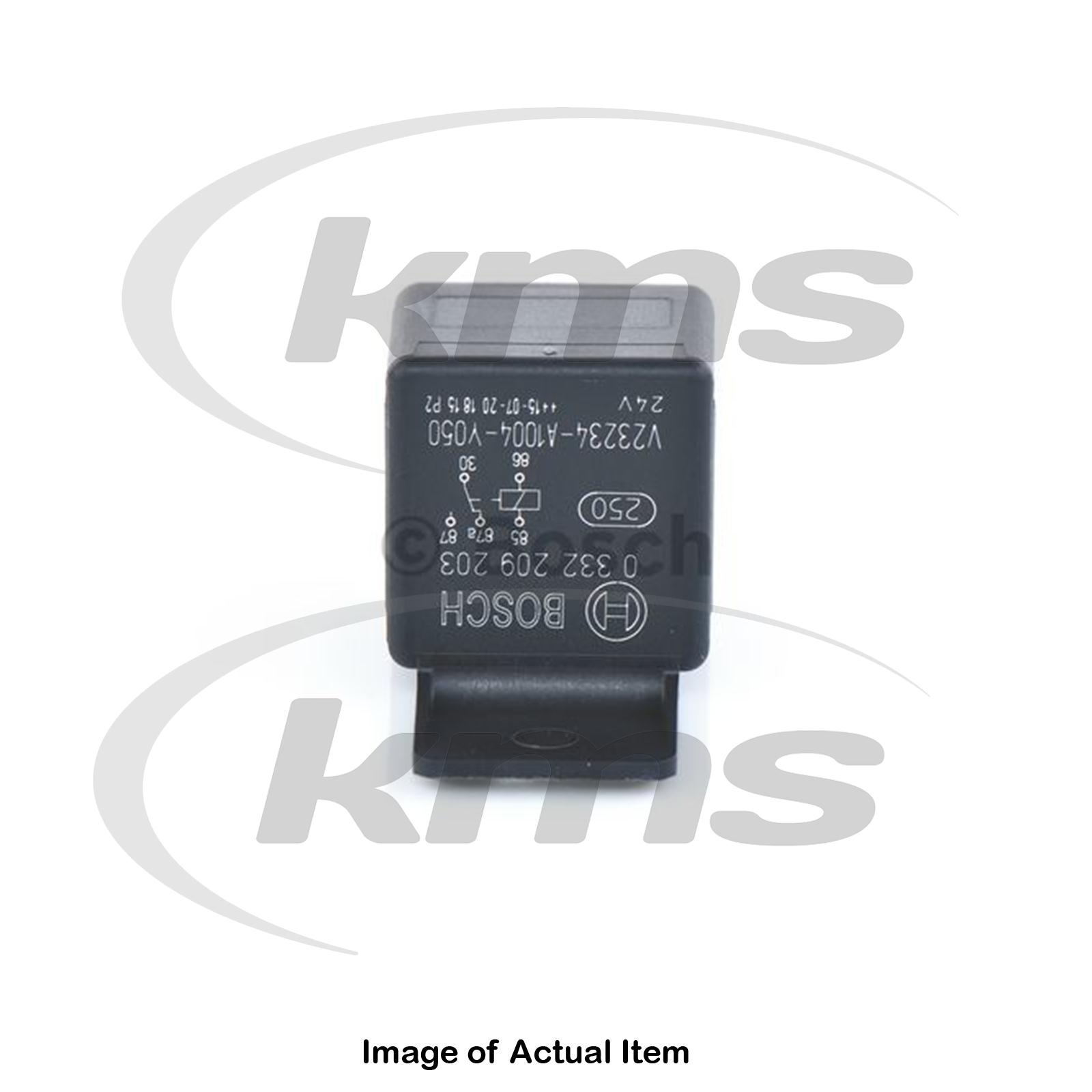 hight resolution of details about new genuine bosch main current relay 0 332 209 203 top german quality