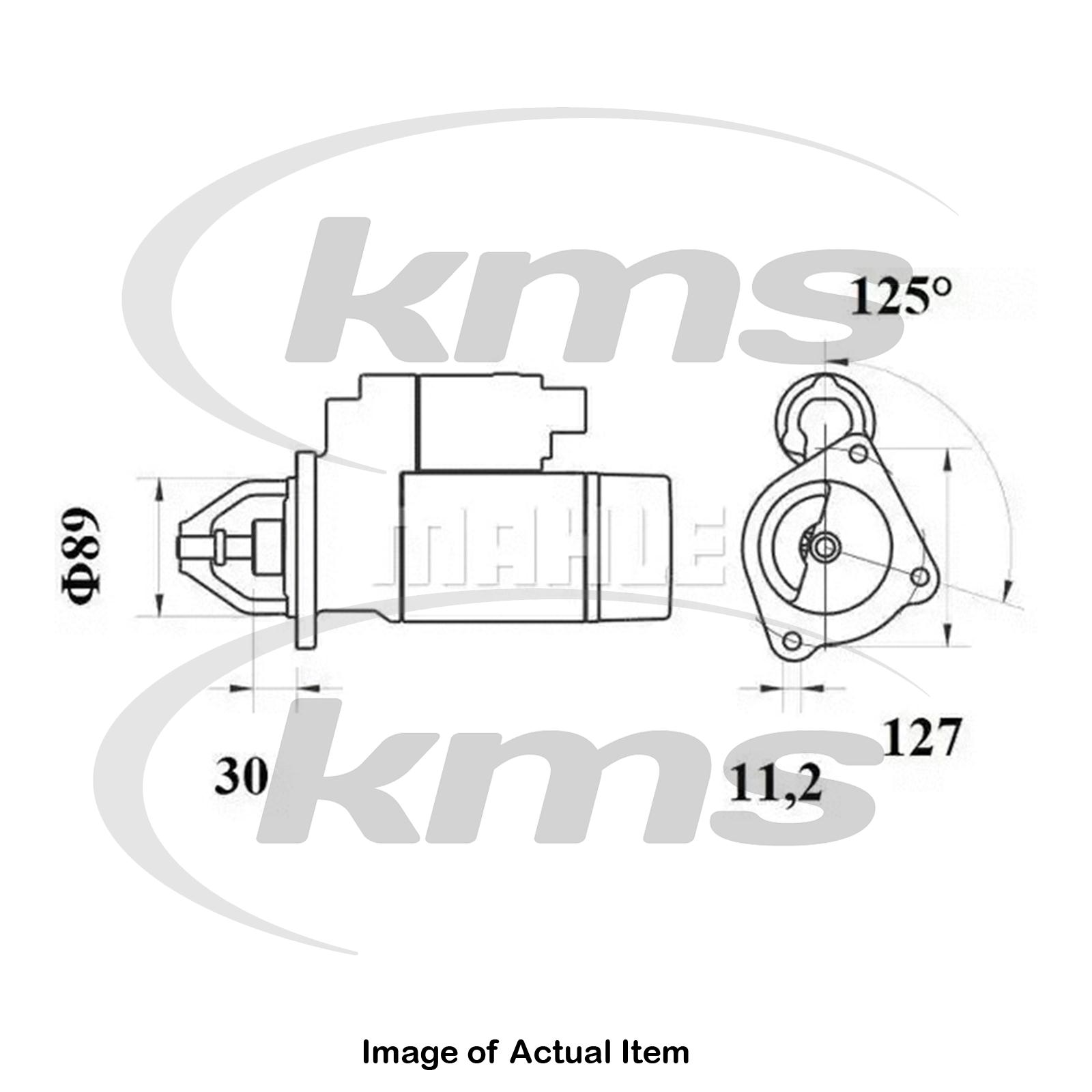 New Genuine Mahle Fuel Filter Kx 182 1d Top German Quality