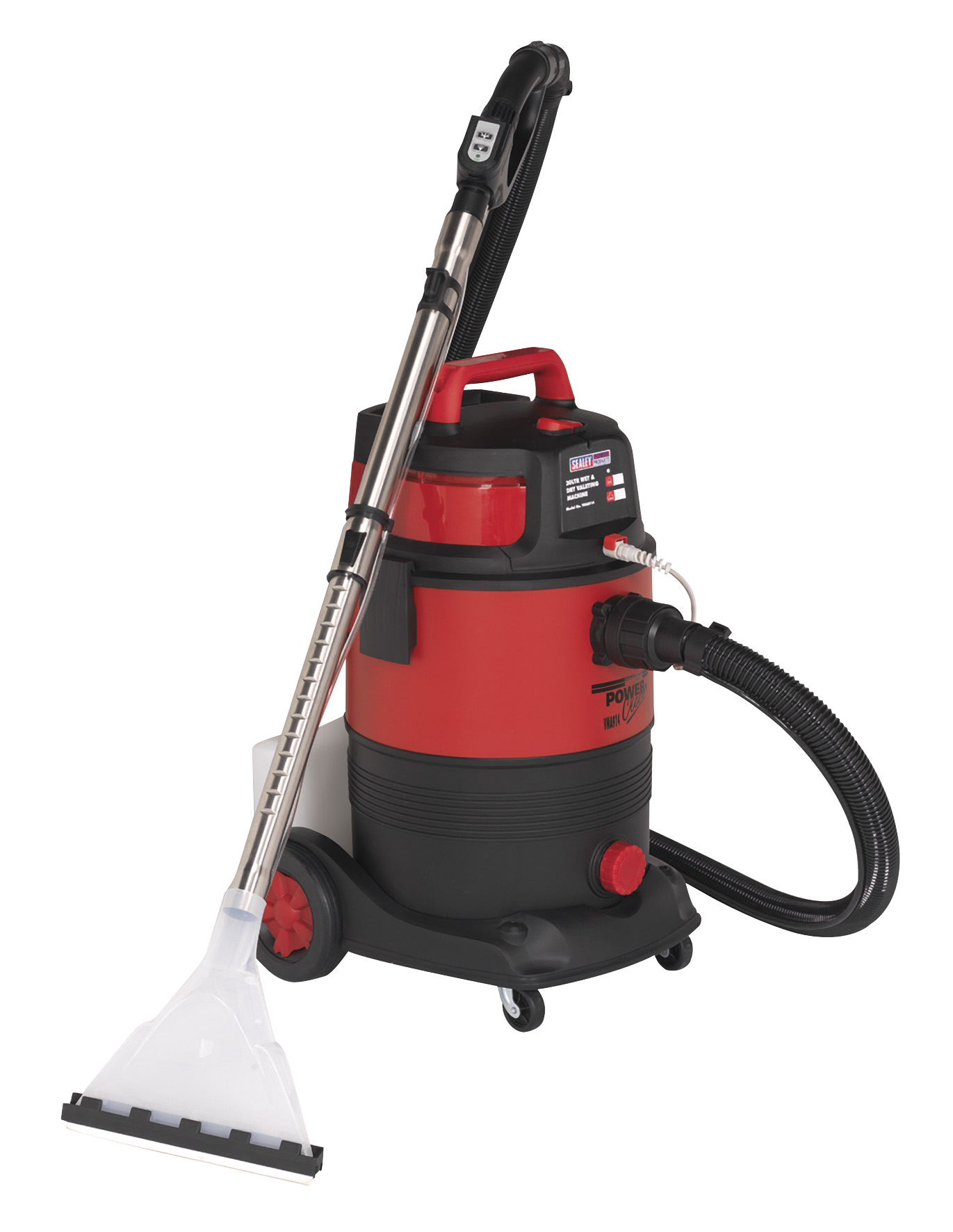 Sealey Valeting Machine Wet Dry 30L Hoover Vacuum Cleaner
