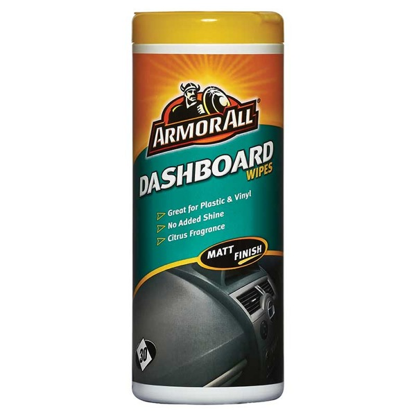 Dashboard Wipes In Matt Pack Of 25 Wipes Interior Car