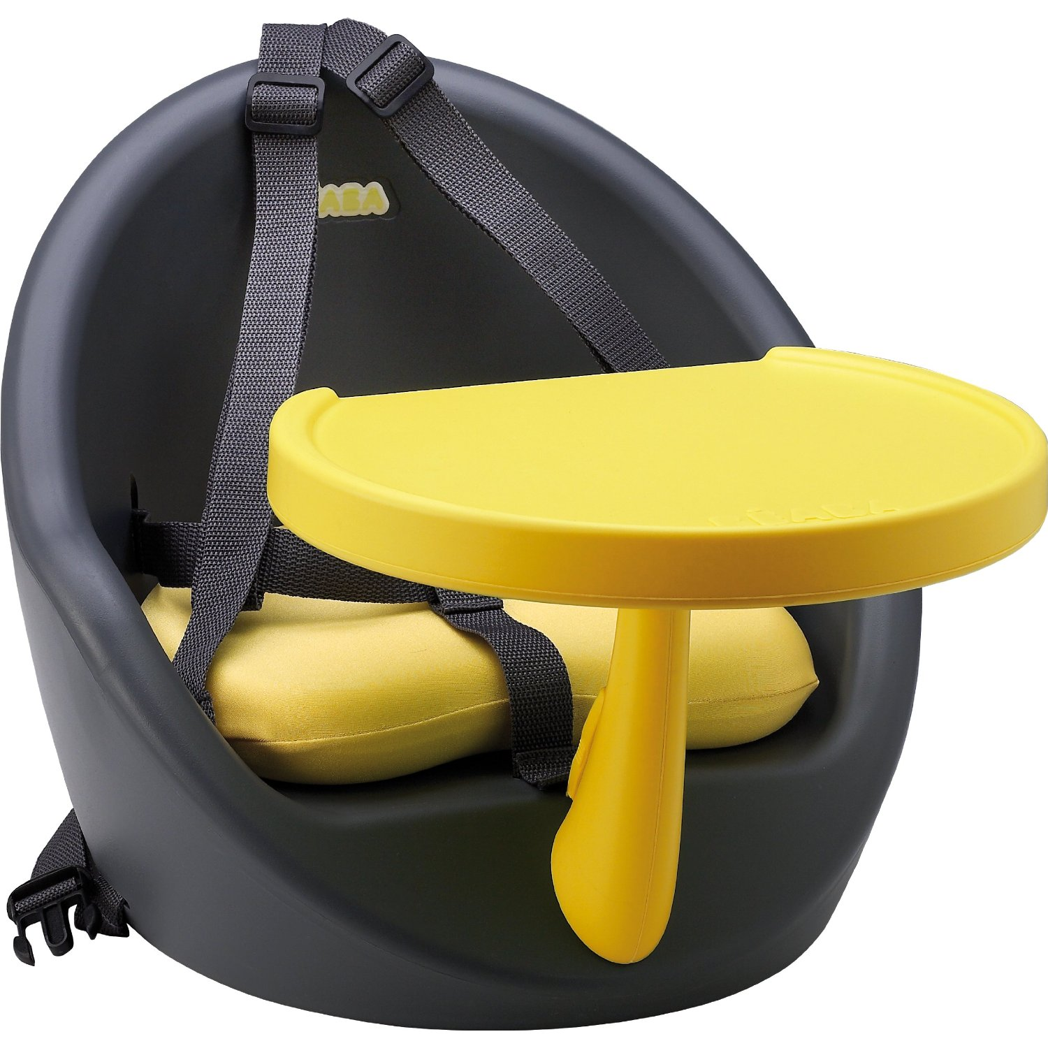 toddler high chair booster seat picnic time folding beaba baby babyboost travel