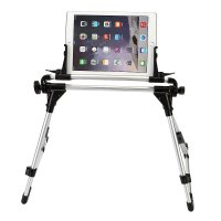 Universal Foldable Desk Floor Stand Bed Tablet Holder