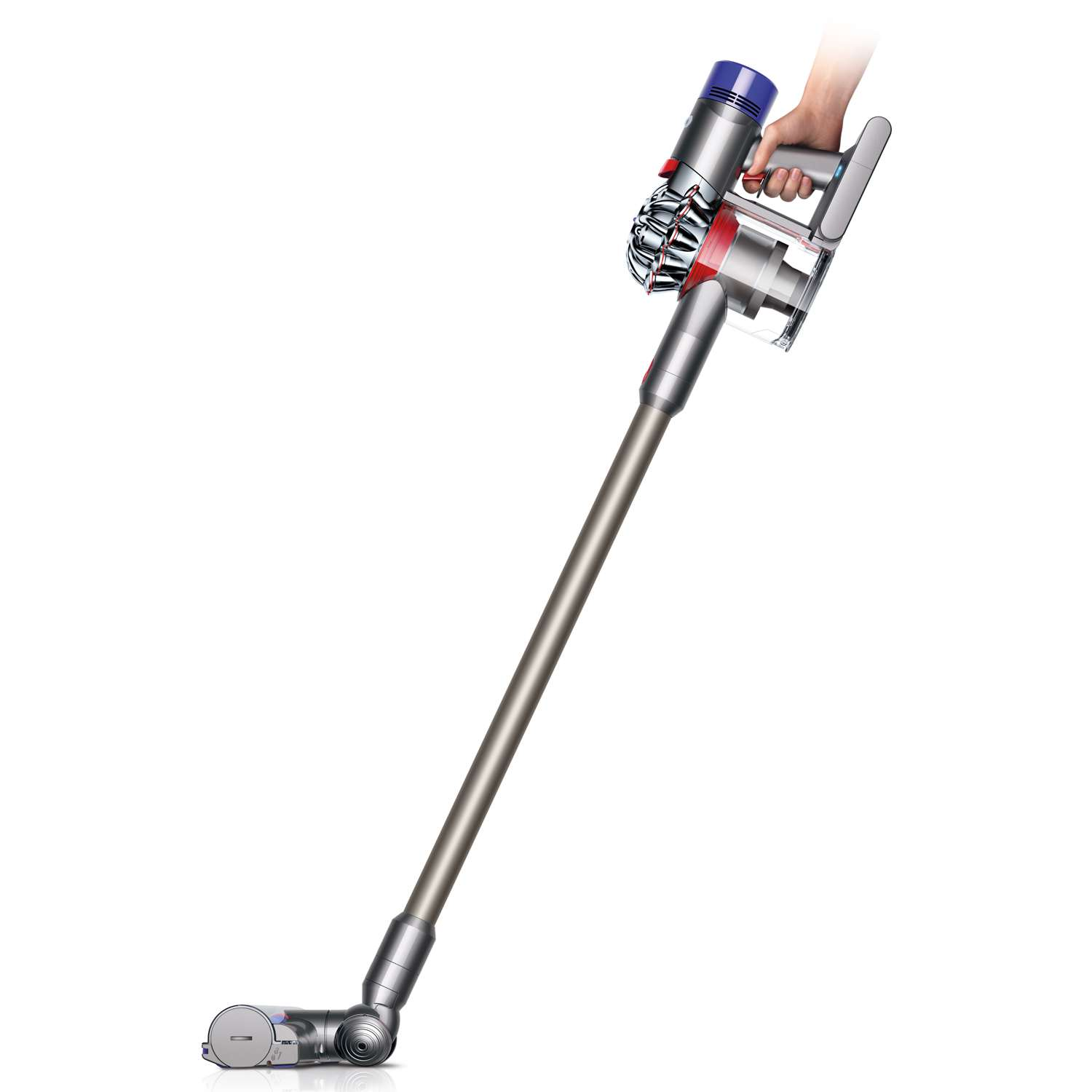 Dyson V8 Animal Cordless Rechargeable Lightweight Vacuum Cleaner In Silver