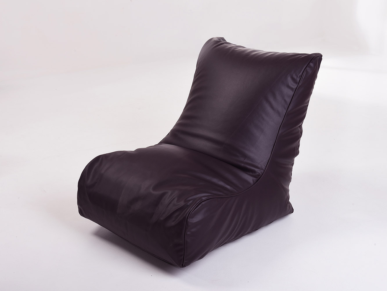 Adult Gaming Chair Beanbag Gaming Gamer Chair Adult Bean Bag Aubergine