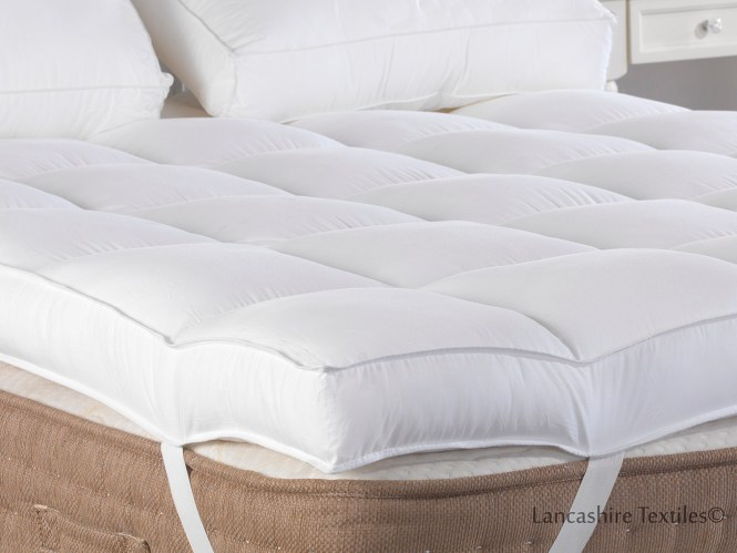 On A Cloud 4 Inch 10cm Extra Thick Mattress Topper Thumbnail