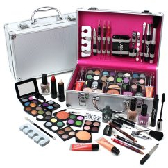 Professional Makeup Chair Uk American Girl High Urban Beauty Make Up Set And Vanity Case 60pcs Cosmetics