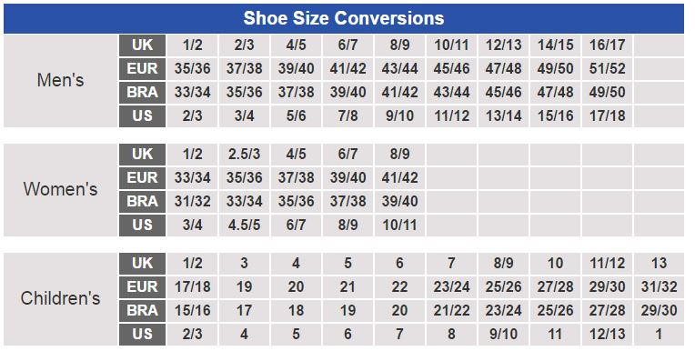 0ef27045c8f2 √ Shoes Size Chart Us To Uk
