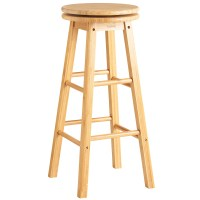 VonHaus Wooden Bamboo Revolving Swivel Kitchen Breakfast ...