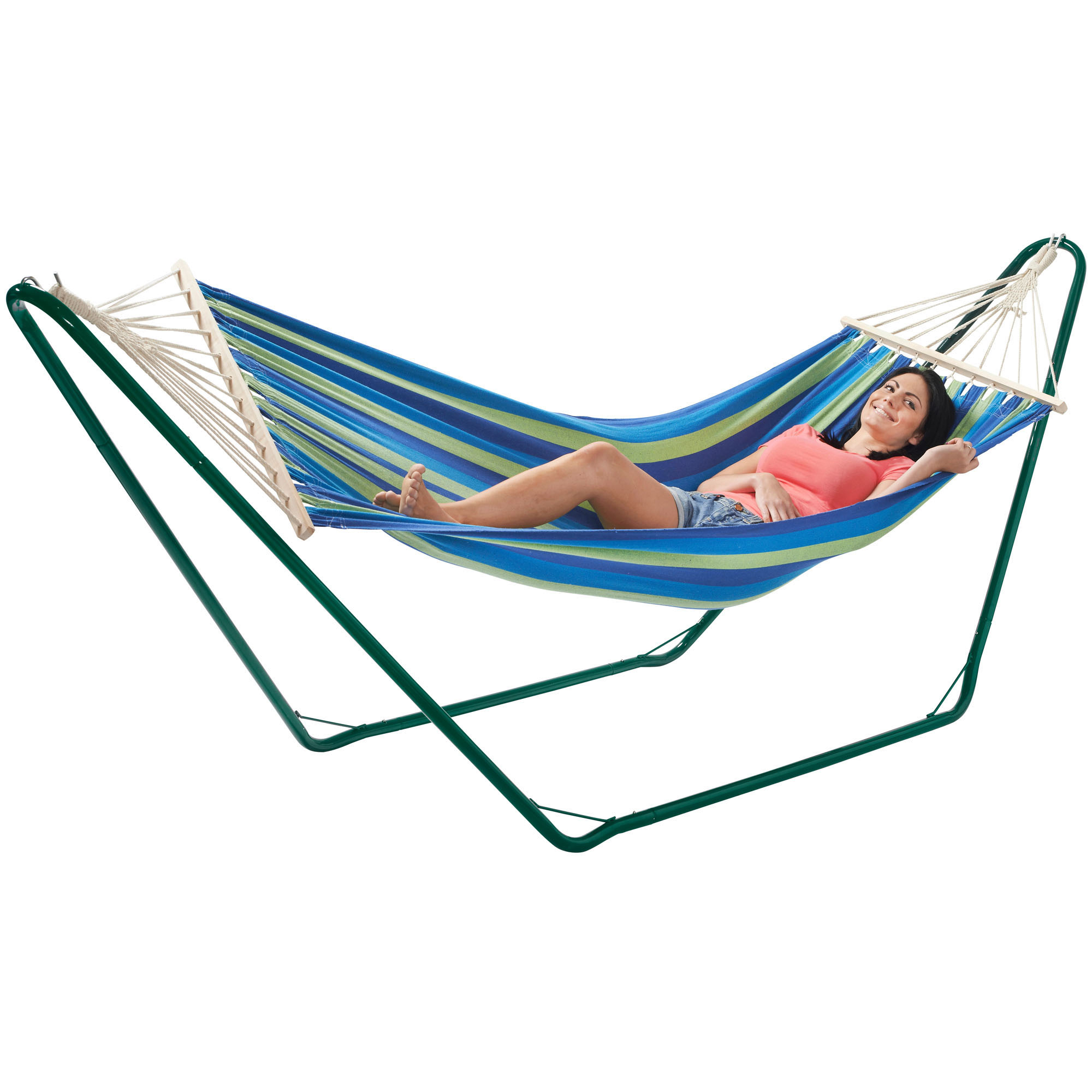VonHaus Luxury Free Standing Swinging Garden Hammock with