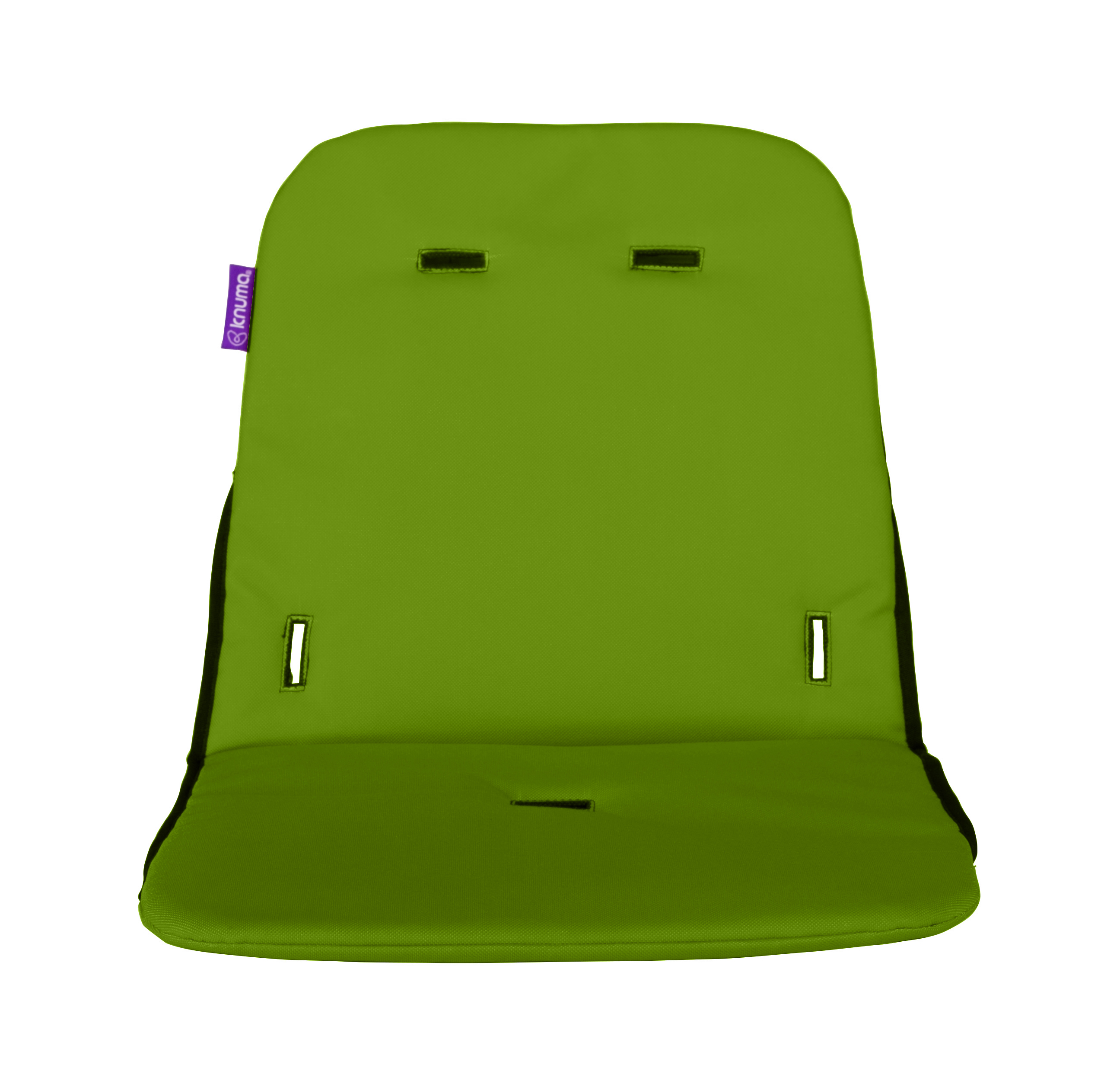 lime green chair pads crate and barrel desk knuma connect high seat cushion ebay