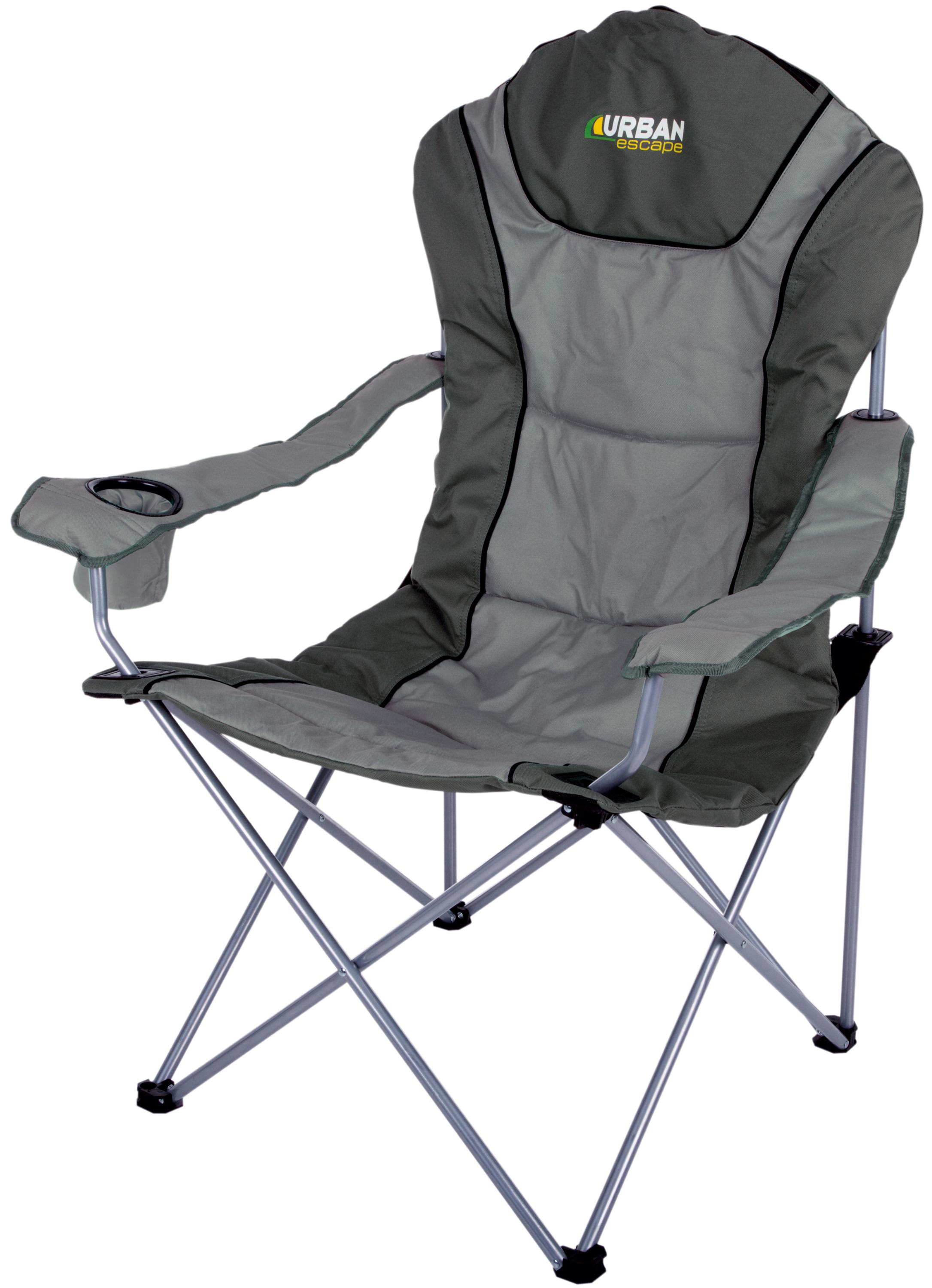 Folding Arm Chair Urban Escape Folding Foldable Seat Arm Chair Fishing