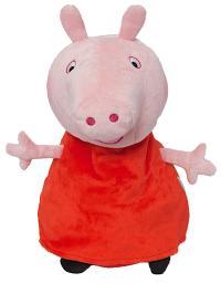 Peppa Pig Travel Pillow Reversible Pink Plush Neck Cushion ...