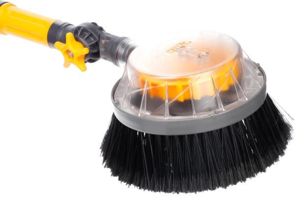 Hozelock Rotating Car Wash Brush - Long Cleaning Valeting