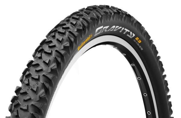 "Continental Gravity 2.3 Tyre 26"" X Black Atb Mtb"