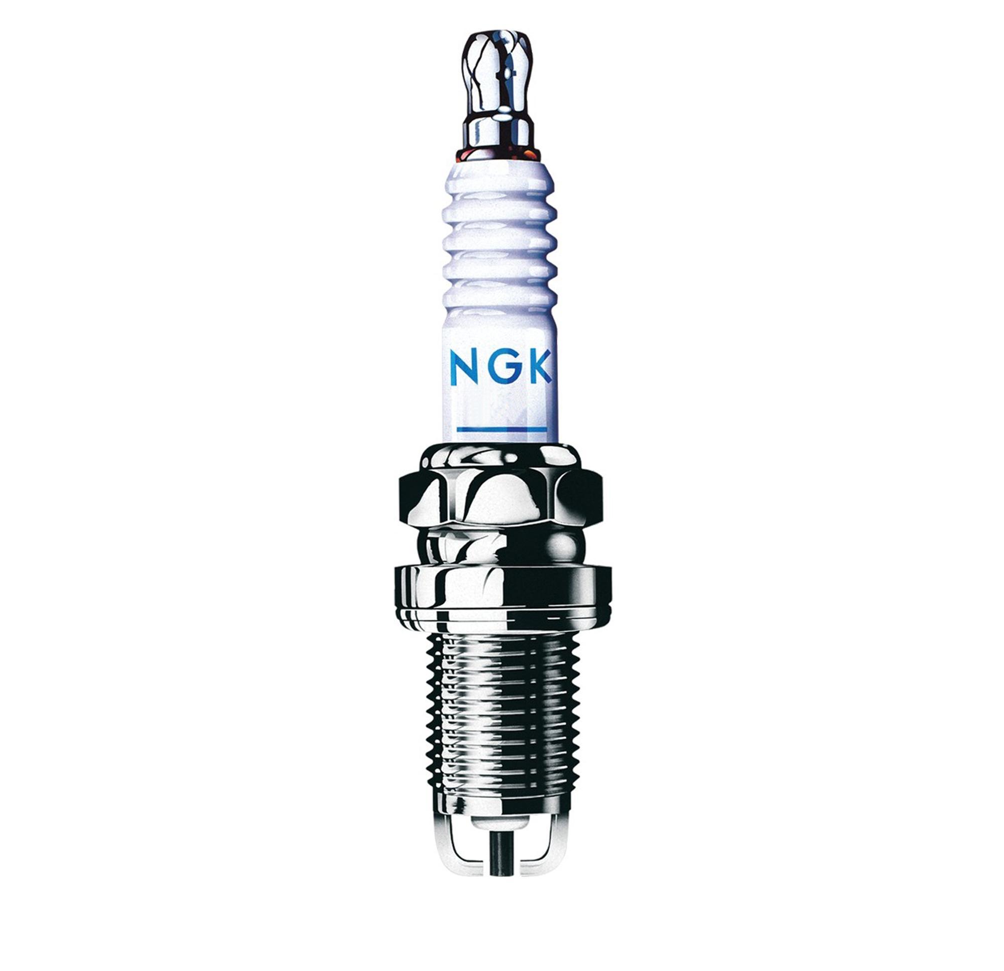 NGK B8ES Motorcycle Standard Spark Plug 14mm Thread