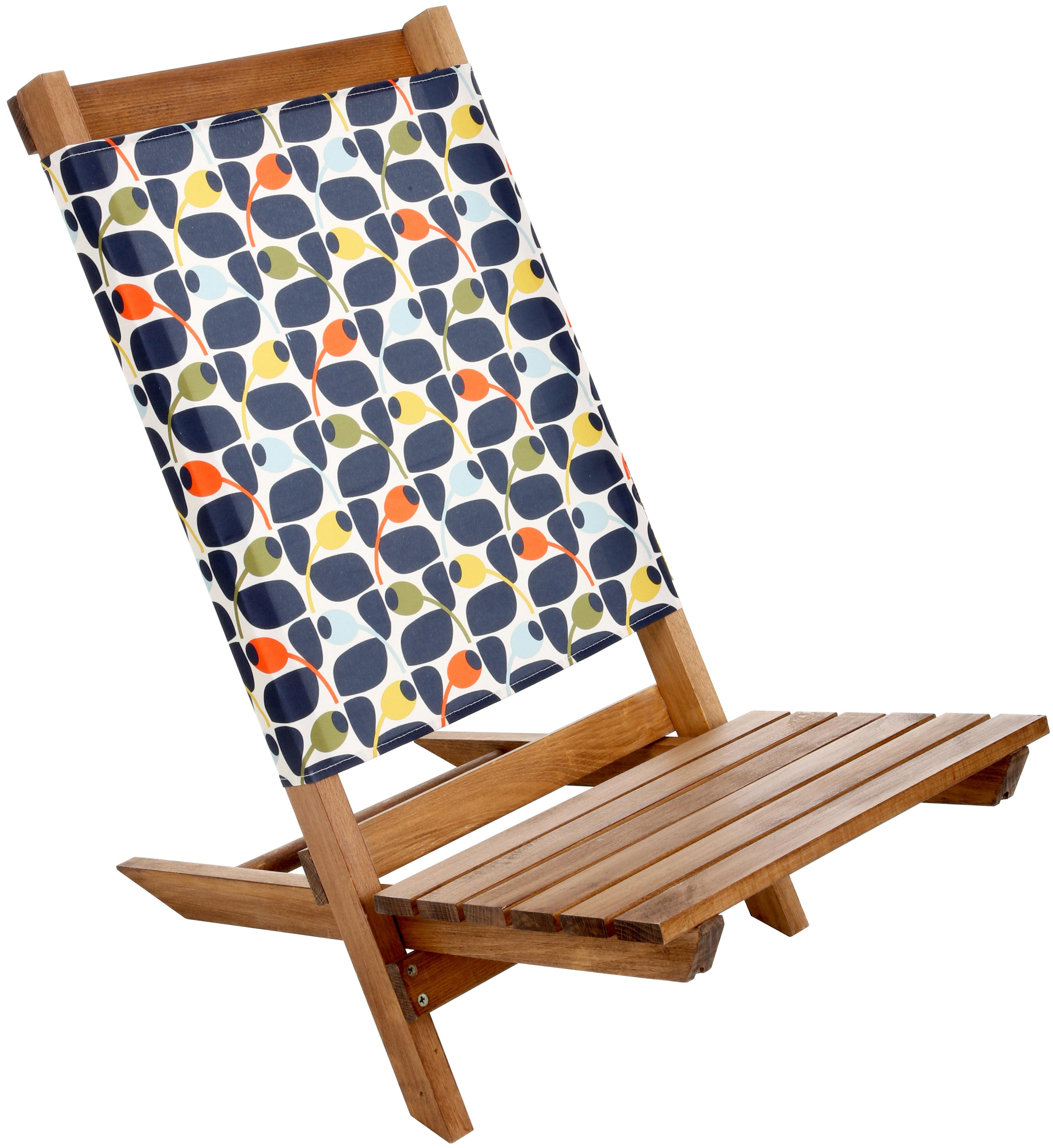 festival folding chair office ebay olive and orange by orla kiely garden camp beach