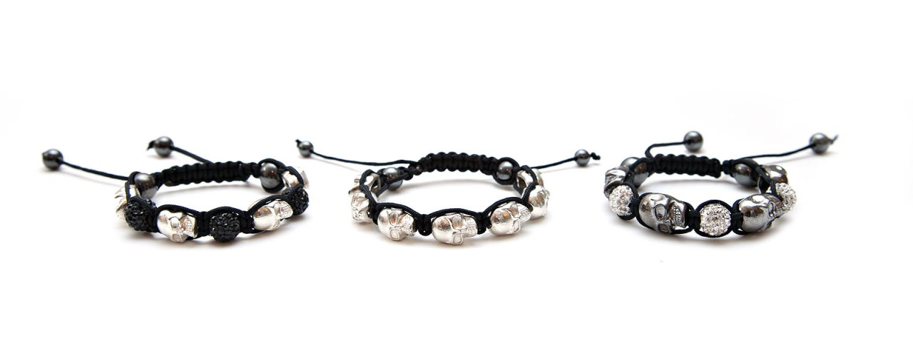NEW 2012 SKULL Shamballa Friendship Bracelet Making Kit