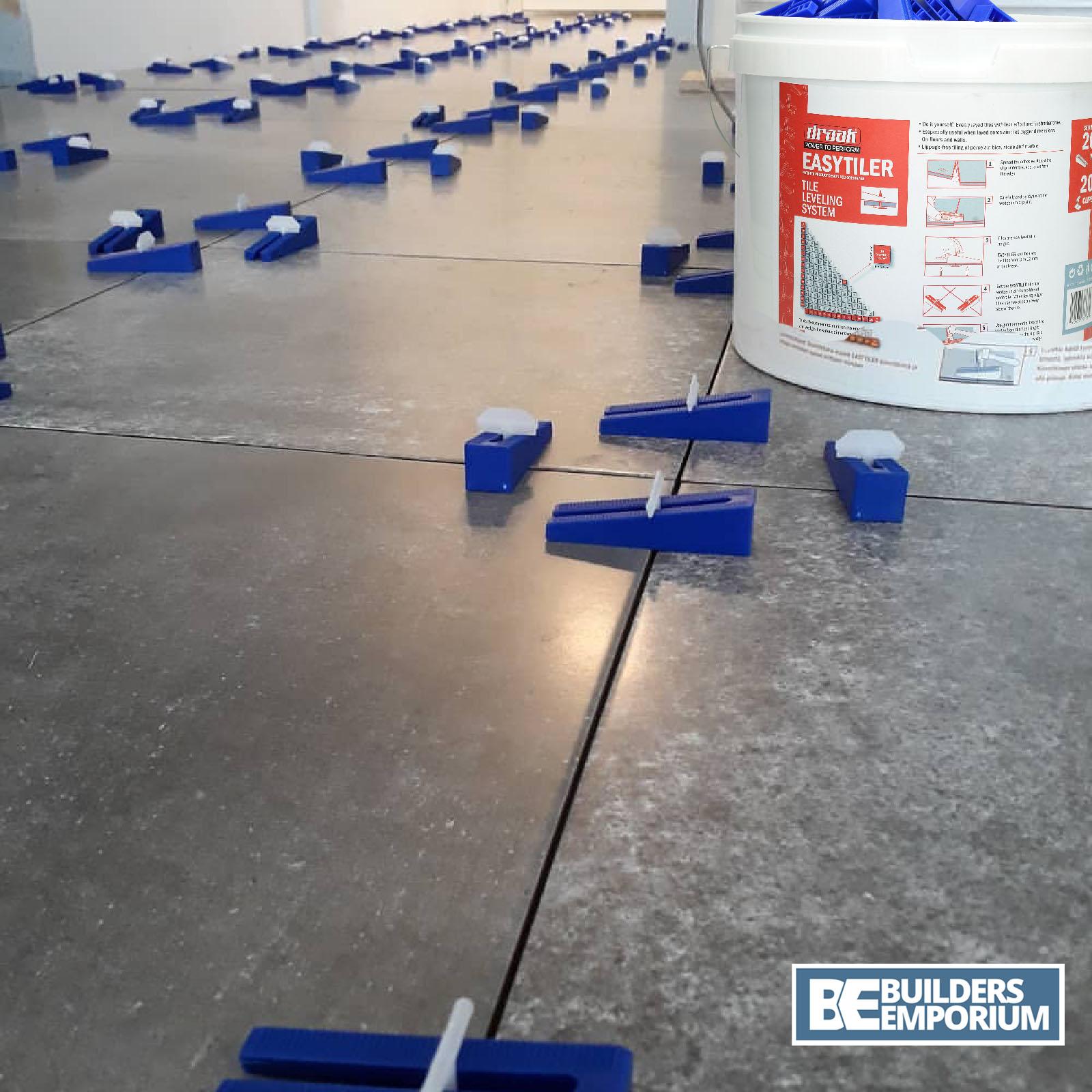 tile leveling spacer system