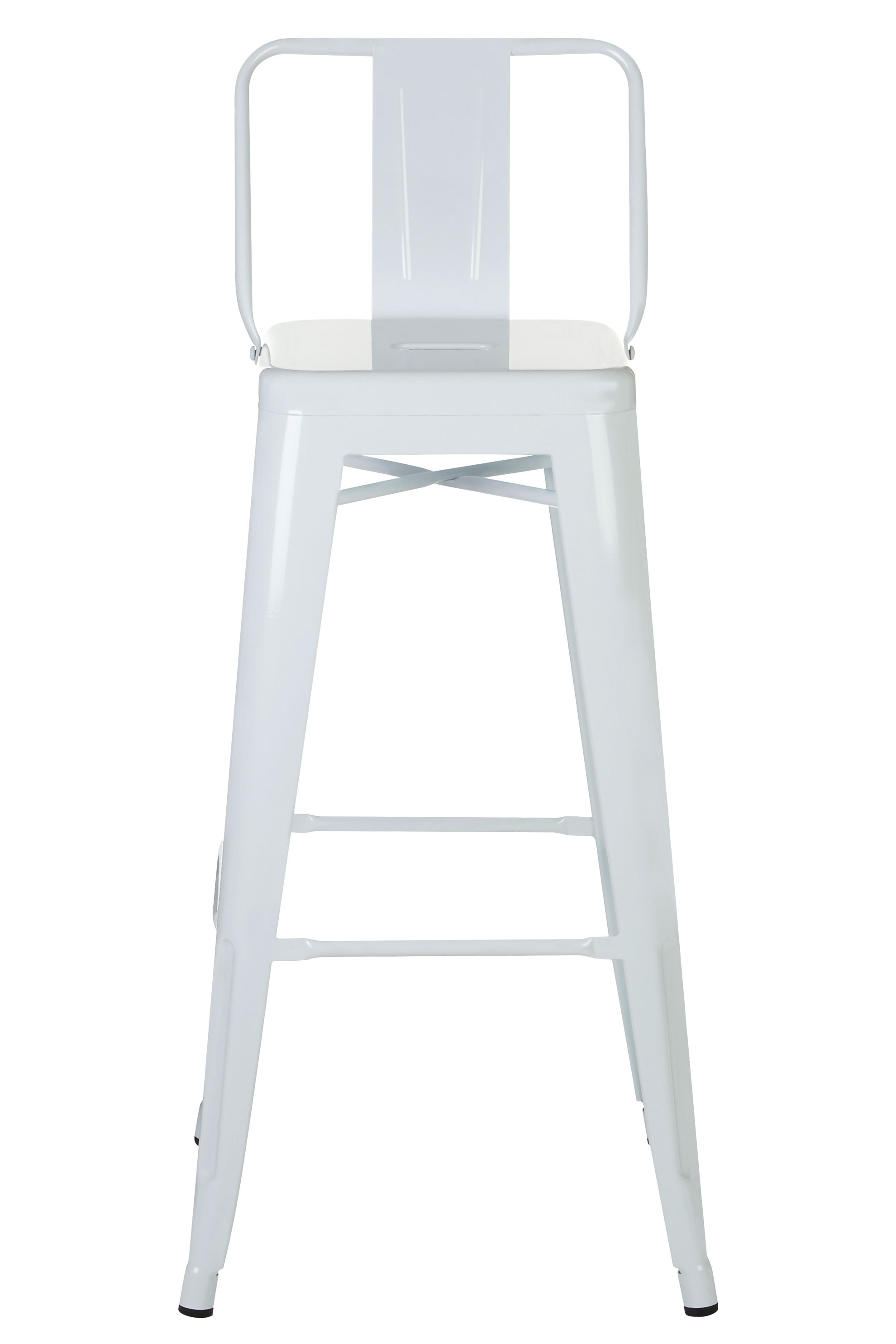 stylish high chair baby chairs under 50 metal industrial bar stool backed white