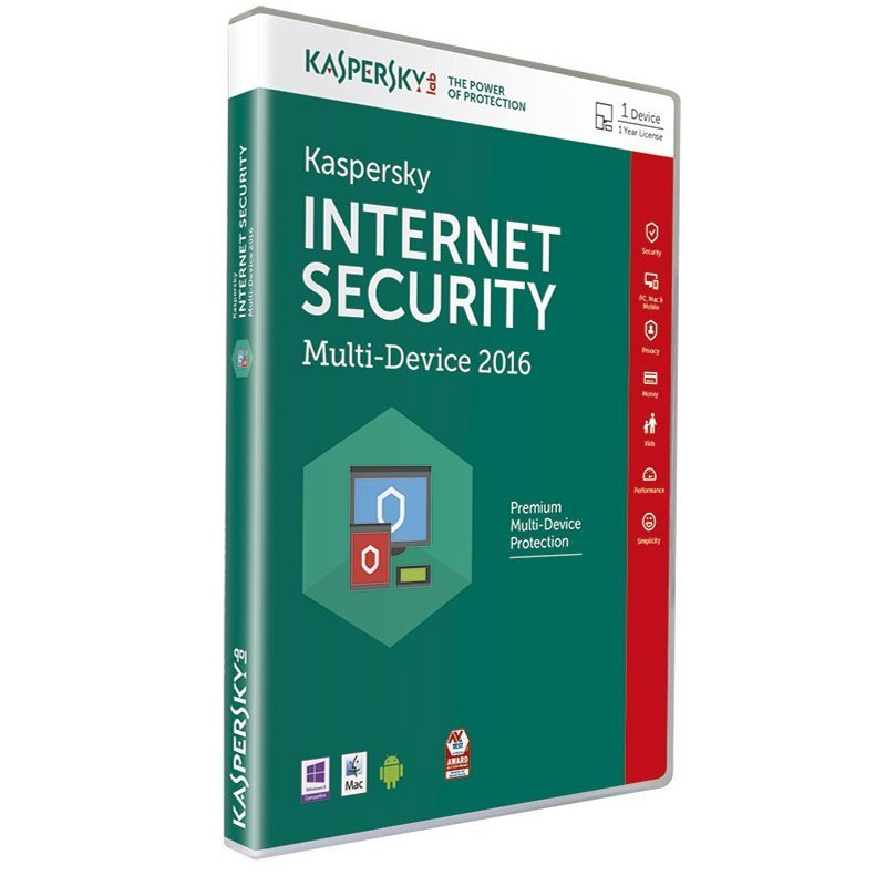 Kaspersky Internet 2016 Icon Security