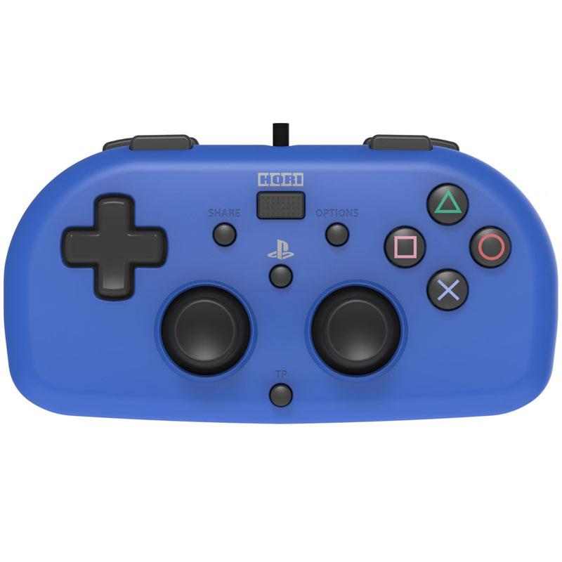 Hori Sony PS4 Wired Controller MINI Gamepad - Blue New PS4-100U 4961818028395 | eBay