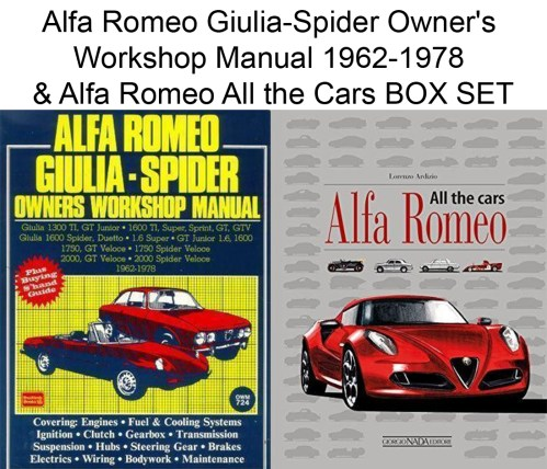 small resolution of alfa romeo spider wiring owners manual wiring diagram load alfa romeo giulia spider owner s workshop manual