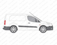 Van Guard ULTI Rack 6 Bar Aluminium Roof Rack for Peugeot ...