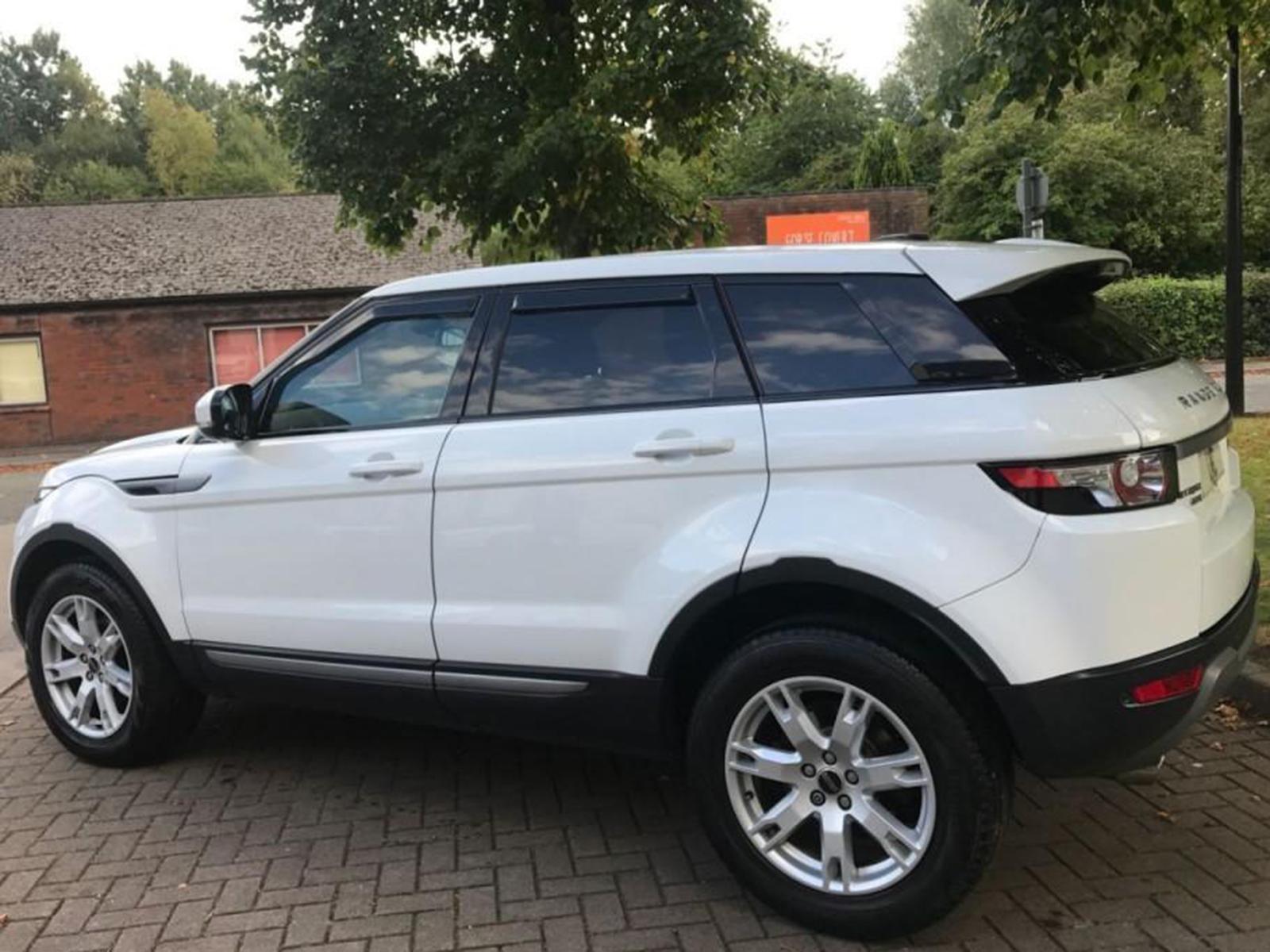 Front Rear Window 4pc Heko Wind Deflectors for Range Rover Evoque