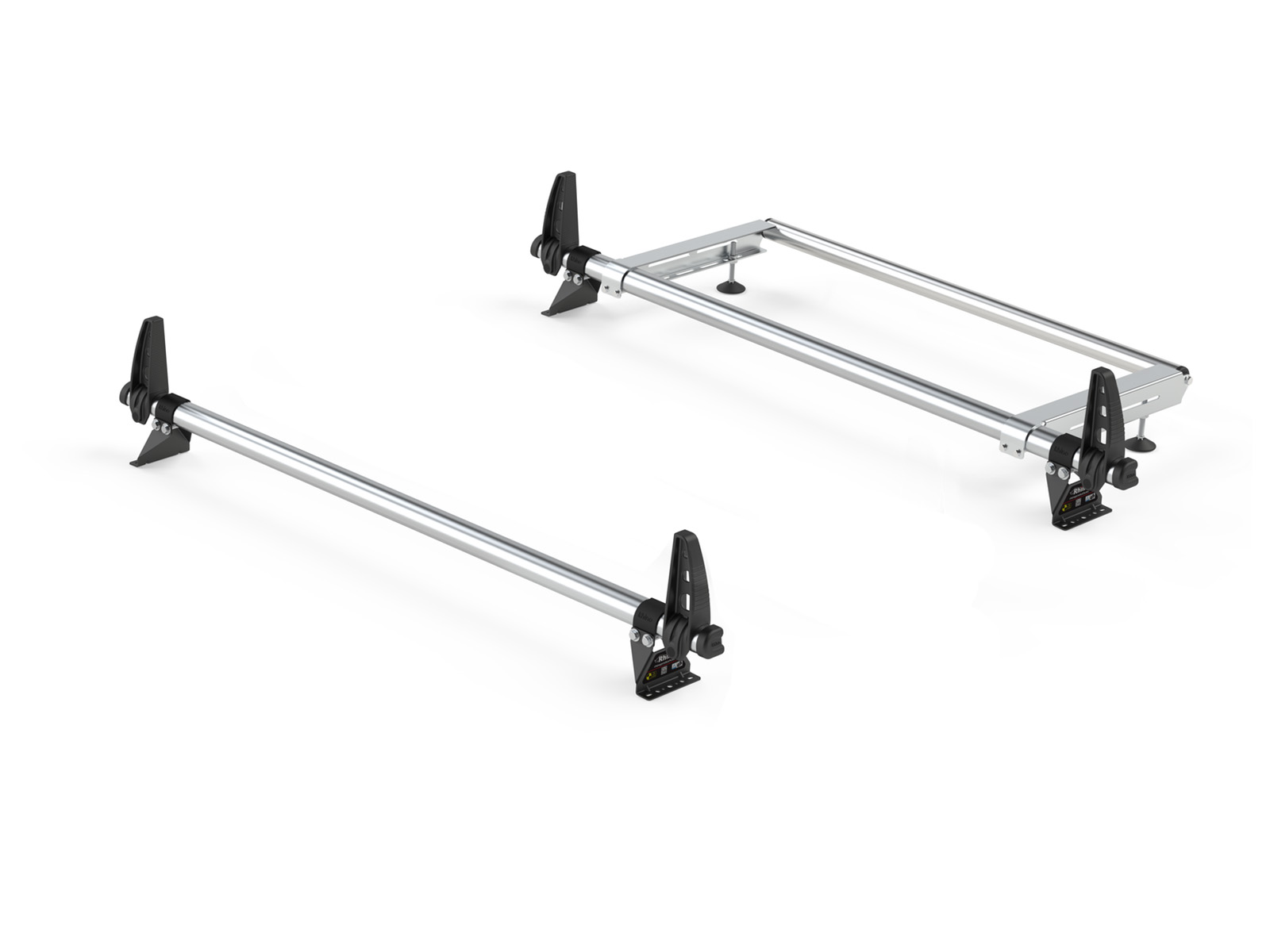 Rhino Delta 2 Bar Roof Bars Ladder Roller For Ford Transit