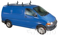 Rhino Delta 2 Bar Van Roof Rack System for Toyota HiAce ...